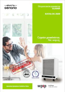 Oczyszczacz elektrostatyczny do dekontaminacji powietrza - katalog